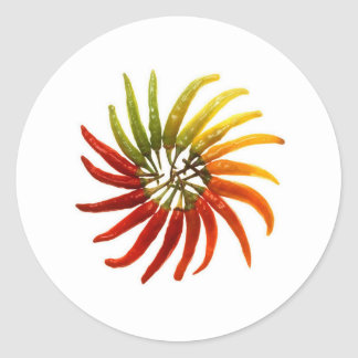 Red Hot Chili Peppers Classic Round Sticker
