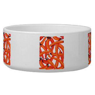 Red Hot Chili Peppers Dog Water Bowl