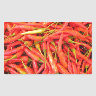 Red Hot Chili Peppers Photo Design Rectangle Stickers