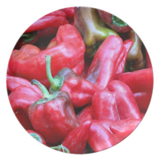 Red Hot Chili Peppers Plate