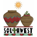 Red Hot Chili Peppers & Pottery Southwest Novelty shirt