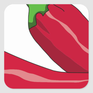 Red Hot Chili Peppers Square Sticker