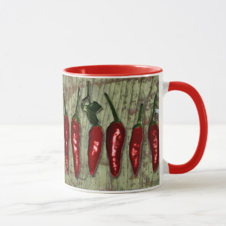 Red Hot Chili Peppers Vintage Wood Mug