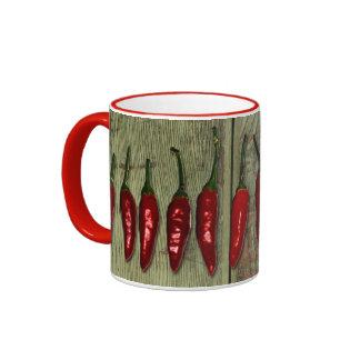 Red Hot Chili Peppers Vintage Wood Ringer Mug