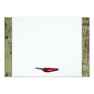 Red Hot Chili Peppers Wood Look Thank You Card