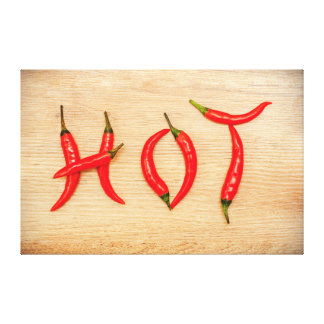 Red Hot Chili Peppers Word Canvas Canvas Print