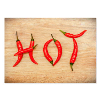Red Hot Chili Peppers Word Letters Business Card