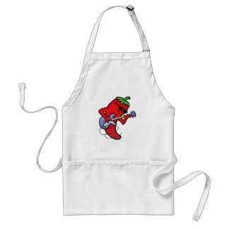Red Hot Chili Rocker Adult Apron