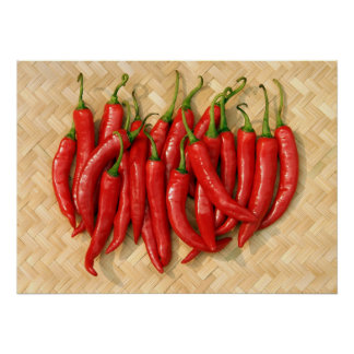 red hot chilis poster