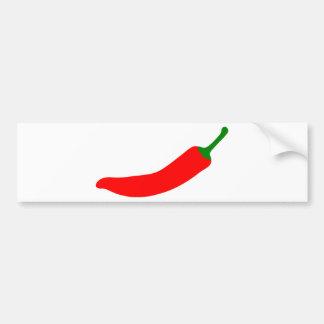 Red Hot Chilli Bumper Sticker