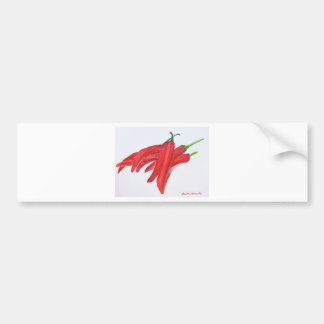 Red hot chilli peppers bumper sticker