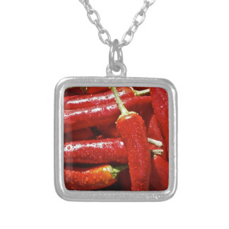 Red hot chilli peppers pendants