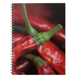 Red Hot Chilli photograph Notebook