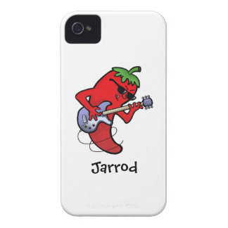 Red Hot Chilli Rocker iPhone 4 Case