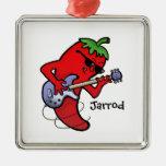 Red Hot Chilli Rocker Christmas Ornament