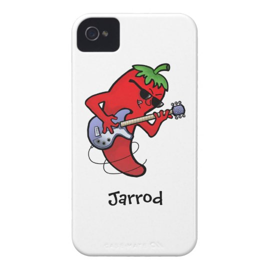 Red Hot Chilli Rocker iPhone 4 Cover