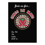 Red HOT! Cinco de Mayo Party Invitations
