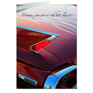 Red Hot Classic Greeting Card
