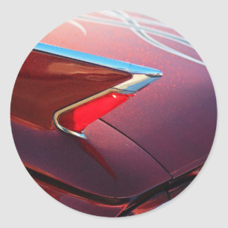 Red Hot Classic Stickers