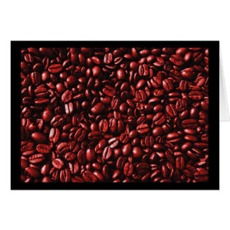 Red Hot Coffee Beans Card