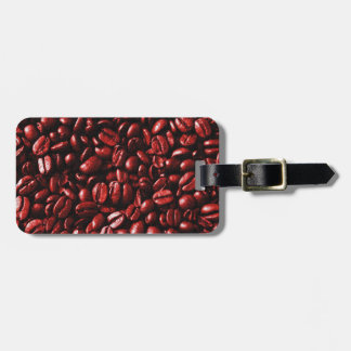 Red Hot Coffee Beans Luggage Tag
