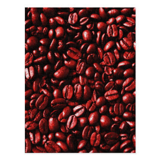 Red Hot Coffee Beans Postcard