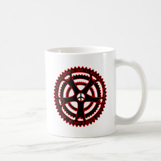 Red Hot Cycle Tracks in Utopia Coffee Mug