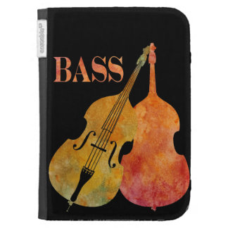 Red Hot Doube Bass Kindle Case