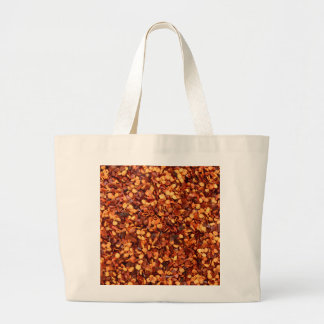 Red hot dried chilli flakes bags