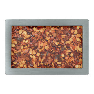 Red hot dried chilli flakes belt buckles