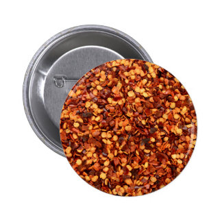 Red hot dried chilli flakes pins