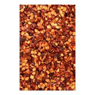 Red hot dried chilli flakes customized stationery
