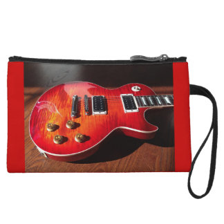 Red Hot Electric Guitar Bag Wristlets