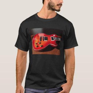 Red Hot Electric Guitar Shirt