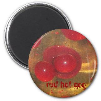 red hot goo refrigerator magnets