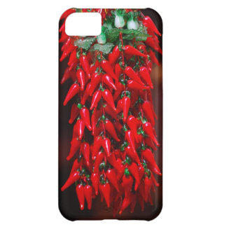 Red Hot Hanging Chili Peppers Image Design iPhone 5C Cover