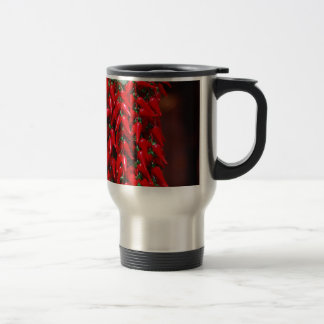 Red Hot Hanging Chili Peppers Image Design Coffee Mugs
