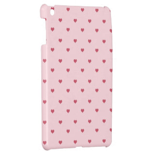 Red Hot Hearts iPad Mini iPad Mini Cover