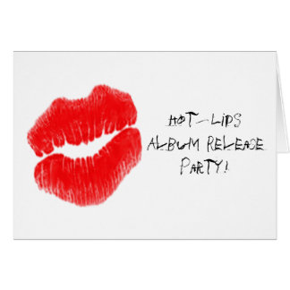 Red Hot Lips I Card