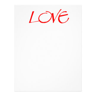 Red Hot Love Letterhead