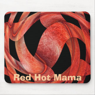 Red Hot Mama Mouse Mat
