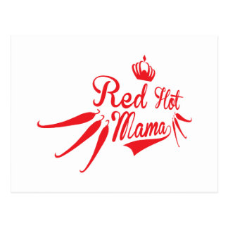 Red Hot Mama Postcard