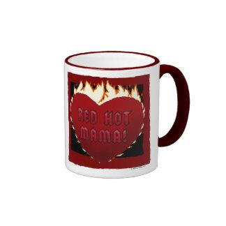 Red Hot Mama! Ringer Mug