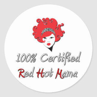 Red Hot Mama Stickers
