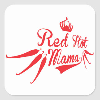Red Hot Mama Sticker