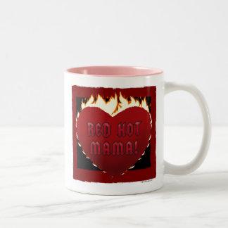 Red Hot Mama! Two-Tone Mug