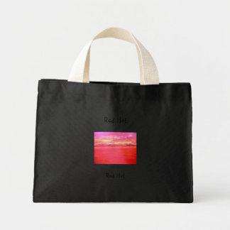 Red Hot Mini Tote Bag