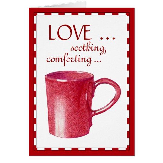 Red Hot Mug Love Card