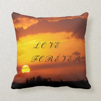 """Red Hot Night"" Sunset Pillow"