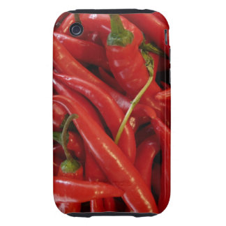 Red Hot Peppers Tough iPhone 3 Case